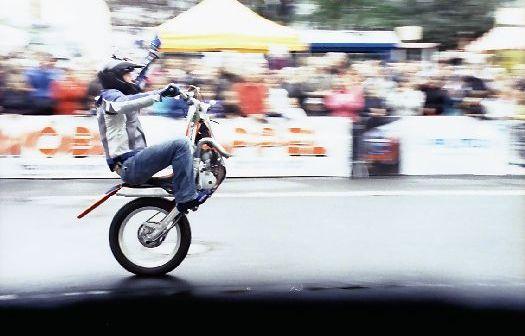 Stuntshow beim Sommerbob 2012 in Hückeswagen
