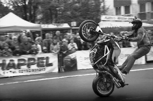 Stuntshow von Mattie Griffin