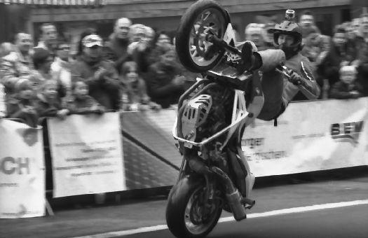 Motorradfahren einmal anders
