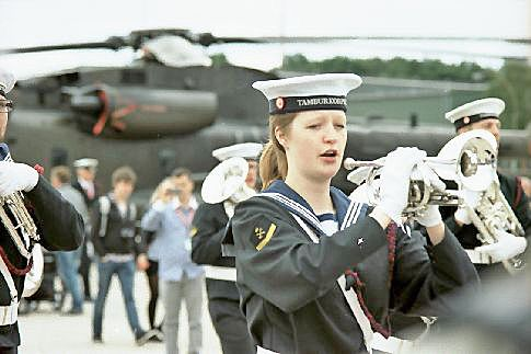 Frauen beim Militär
