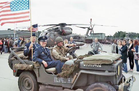 Die Kommandatur der USA auf der NATO-Airbase Geilenkirchen
