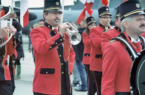 Musiktruppe beim Natofest in Geilenkirchen
