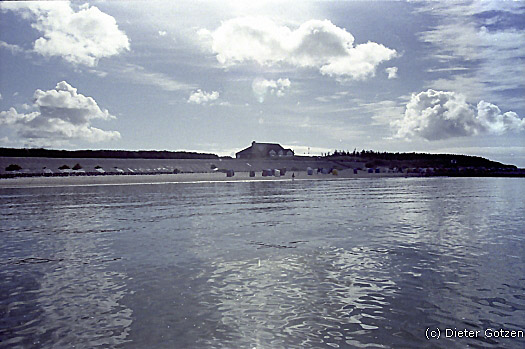 Strandcafe auf Föhr