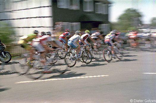 Sport-Fotografie: Radrennen