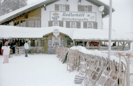 Rodlerhuette Hornbahn