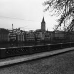 So empfing uns Zürich: grau, lieblos, langweilig