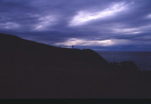 Gewitterstimmung Pozo Negro / Fuerteventura