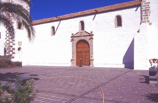 Die Kirche von Betancuria