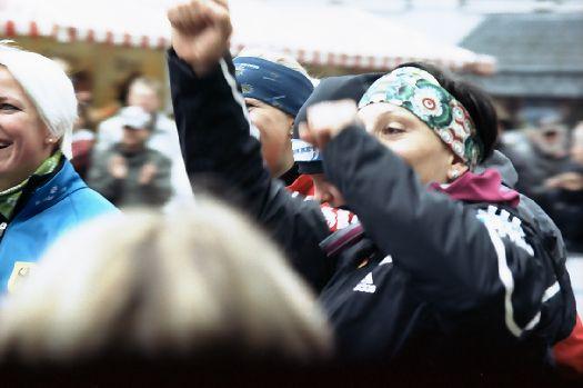 Kämpfen und Feiern bei der EM im Sommerbob 2012 in Hückeswagen
