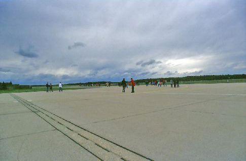 Nato Parkplatz am Tag der offenen Tür