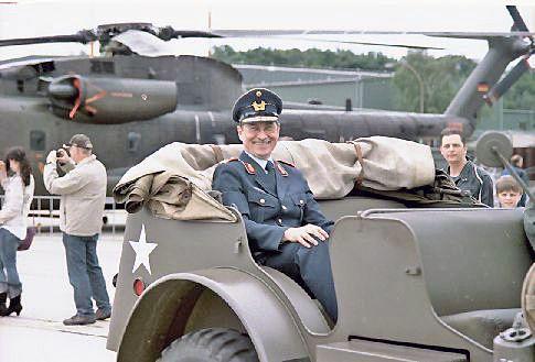 Kommandeur der Nato airbase Geilenkirchen