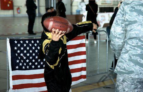 Football für Kinder und Jugendliche auf dem Natofest