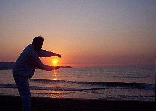 Costa Brava: Sonnenaufgang