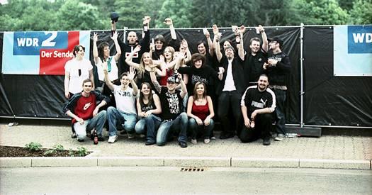 WDR2 für eine Stadt: Jugendliche sagen Danke an die Stadt Hückeswagen