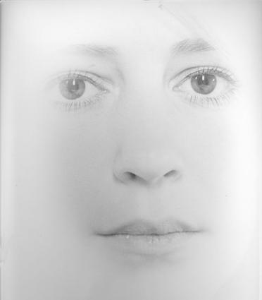 Porträt weibl. Model