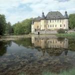 Schloss Dyck im Frühjahr