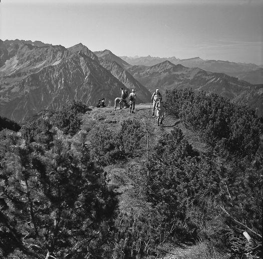 Iseler Bergpanorama