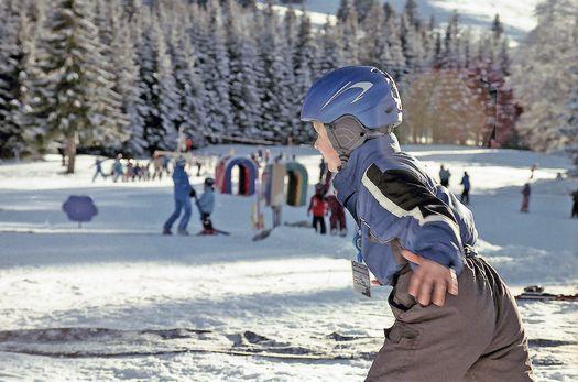 kind skilaufen