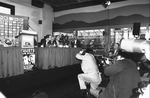 Vitali Klitschko Pressekonferenz