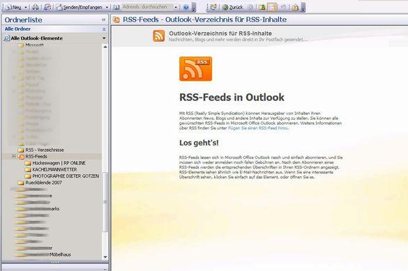 Anleitung RSS-Reader für blog.foto-dg.de