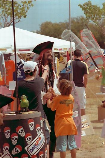 Captain Sparrow an der Costa Brava