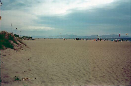 Strand an der Costa Brava