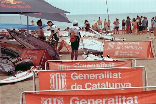 Windsurfen an der Costa Brava