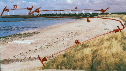 Landschaftsfotografie Holland Delta-Projekt
